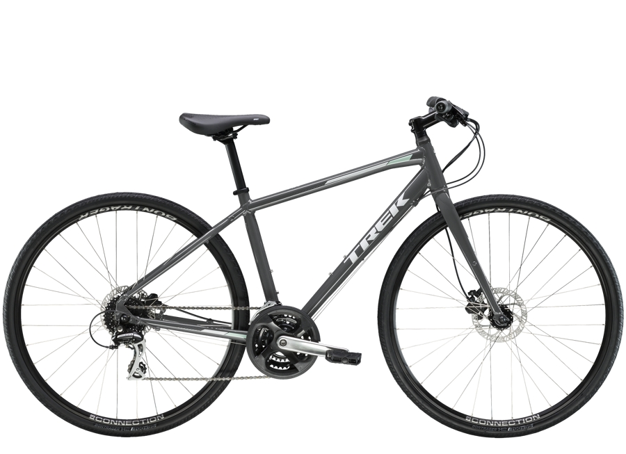 Trek FX 2 Women's Disc S Solid Charcoal