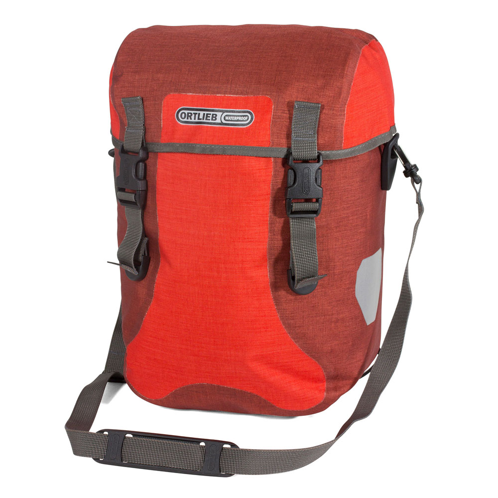 ORTLIEB Sport-Packer Plus - signalred - dark chili