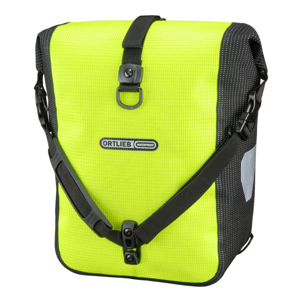 ORTLIEB Sport-Roller High Visibility - neon yellow - black reflex