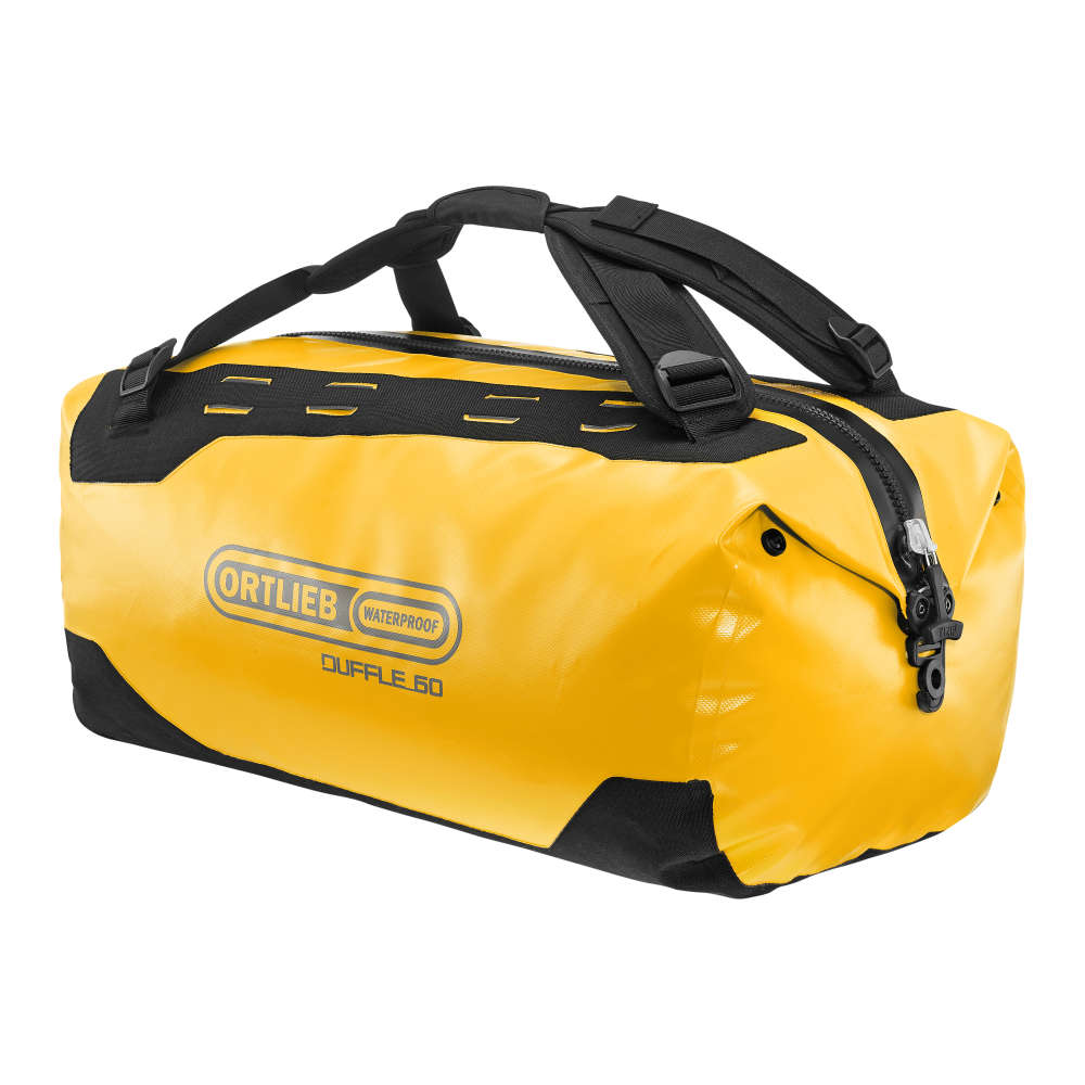 ORTLIEB Duffle - sun yellow - black