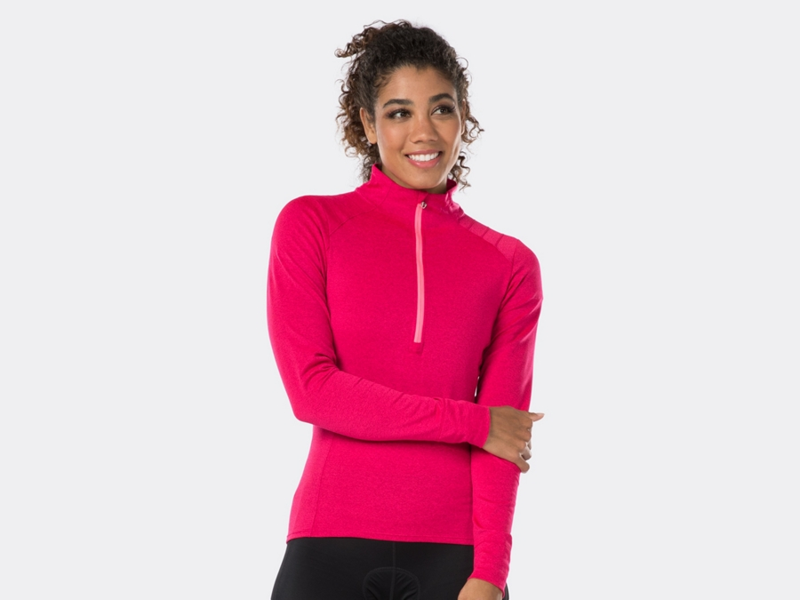 Bontrager Trikot Vella Thermal Long Sleeve M Vice Pink
