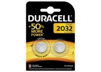 Duracell, Batterien, CR2032, Lithium, Long Lasting, 2 Stk